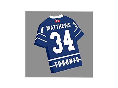 NHL Ice Hockey Jersey Kühlschrank Magnet–Sie den Namen, Anzahl und Team Farben, kostenlose Personalisierung. Toronto Maple Leafs NHL Magnet
