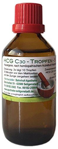 HCG C30 Tropfen - 50 ml - preiswerte Kurpackung - klassische Homöopathie - aus deutscher Traditionsapotheke