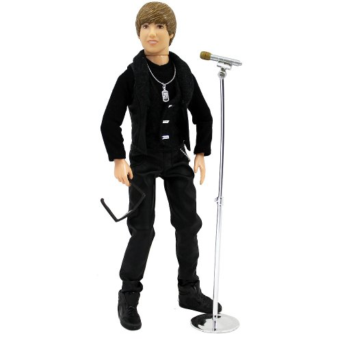 Justin Bieber Singing Doll 'Never Say Never' by Bravado Merchandising (English Manual)