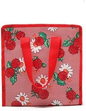 Mode mignon Sac de boîte à lunch portable portable portable étanche à glissière non tissé avec film extérieur (rouge) | Les Produits Sont Vendus Sans Prescription Mode Et Forfaits Attractifs  86283e