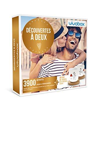 Vivabox - Coffret cadeau couple - DECOUVERTES A DEUX - 3900 activités de couple ......