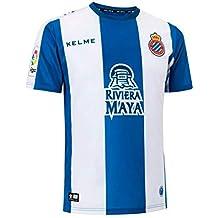 KELME Camiseta de la 1ª equipación del RCD Espanyol ...