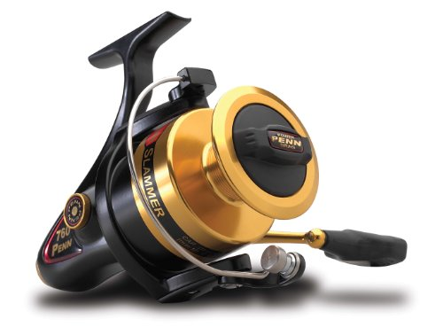 Penn Gold Label Series Slammer Spinning Reel, 240 -Yard, 8 -Pound capacity (Penn Angelrollen-spinning)