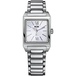 Hugo Boss 1502234 – Reloj de Cuarzo para Mujeres, Color Plata