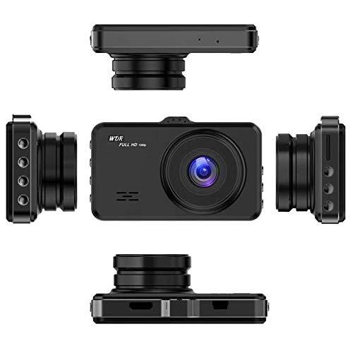 Monland Einzelne Aufzeichnung Dash Cam Fhd 1080P 3,0 Zoll LCD Bildschirm Armaturen Brett Kamera Auto Fahrer Recorder Mit 140 Grad Weit Winkel, Wdr, Loop Aufnahme, Bewegungs Erkennung -