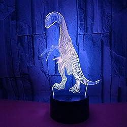 3D Lampe Nachtlicht Stimmungslicht Tischlampen Motorrad Berühren/Remoto-Schalter Perfekte Geschenke für Baby
