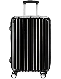 Valise cabine trolley - 4 roulettes double - ultra léger - 56 cm 20172 - Partyprince