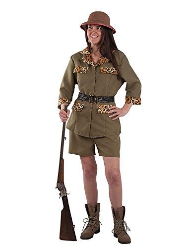 Imagen de disfraz exploradora safari mujer  único, m