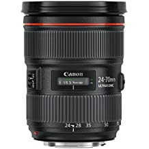 Canon EF 24-70mm f/2.8L II USM - Objetivo para canon (distancia focal 24-70mm) color negro