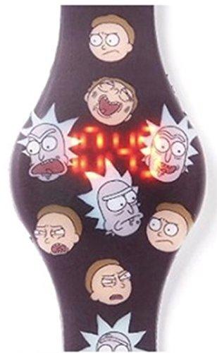 Rick and Morty - Reloj LED con mechas y expresiones de Morty