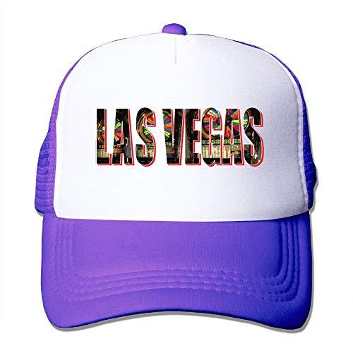 KKAIYA LAS Vegas City Mesh Womens Casual Trucker Baseball Cap (City Sports Newsboy Caps)