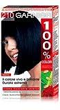 tinta per capelli 100% color 210 nero blu