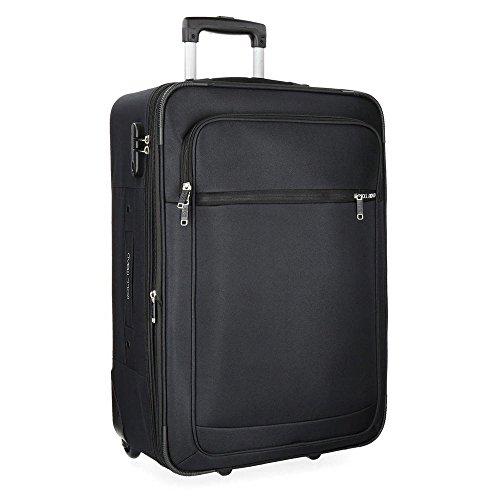 Time Koffer, 75 cm, 89 liters, Schwarz (Negro)