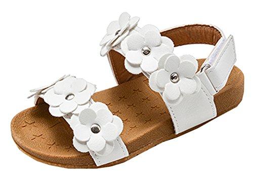 Scothen Bébés filles Sandales chaussures à lanières d'été décontractée sandales chaussures plage sandales romaines chaussures de princesse flip-flop Walker sandales chaussures espadrilles de ballerine