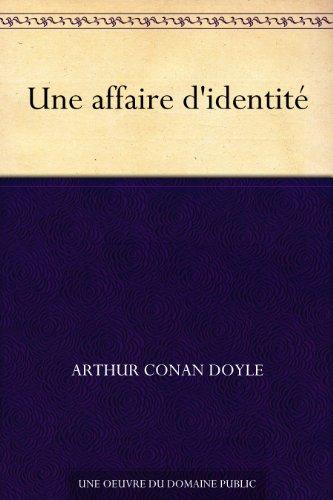 Couverture du livre Une affaire d'identité