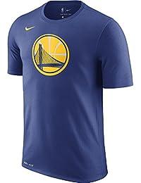 Nike GSW M NK Dry Tee è Logo T-Shirt Golden State Warriors da Basket 1c43f7543c80