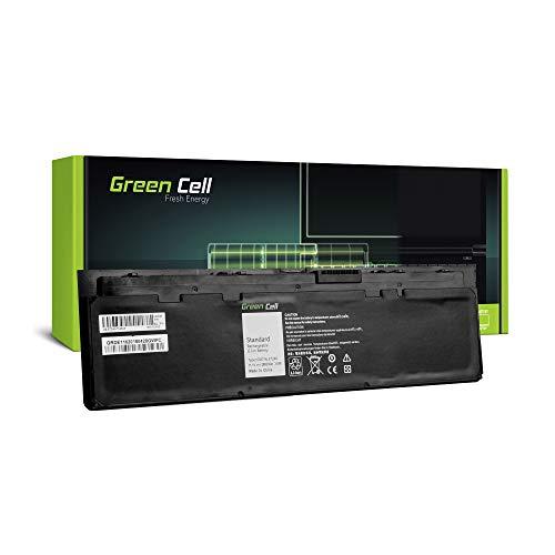 Green Cell® WD52H GVD76 0KWFFN 0WD52H KWFFN Laptop Akku für Dell Latitude E7240 E7250 (Li-Polymer Zellen 2800mAh 11.1V Schwarz)