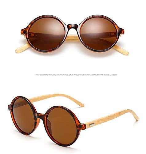 Sonnenbrillen. Retro Rund Um Echten Bambus Holz- Sonnenbrillen Sonnenbrillen Männer Frauen Marke Original Holz Gläser Komfortable Sommer Uv400