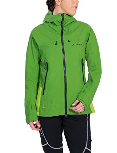 Vaude Damen Jacke Roccia Jacket, Parrot Green, 42, 05697