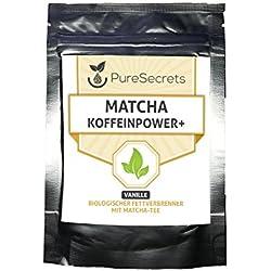 Matcha Koffeinpower + Vanille
