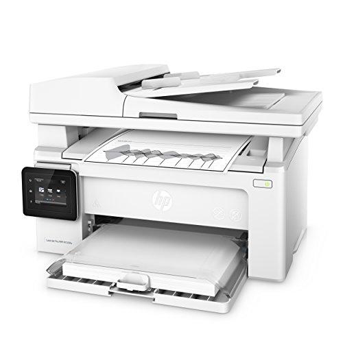 HP LaserJet Pro M130fw Laserdrucker Multifunktionsgerät (Drucker, Scanner, Kopierer, Fax, WLAN, LAN, Apple Airprint, HP ePrint, JetIntelligence, USB, 600 x 600 dpi) weiß - 2