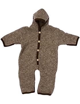 Cosilana, Baby Fleece Overall mit Umschlag,100% Schurwolle (kbT)