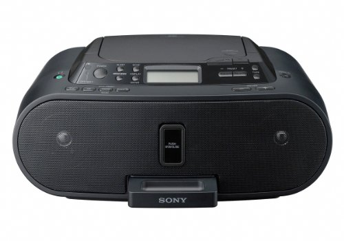 Sony ZS-S2IPB Einstiegsdockingstation für Apple iPod mit CD-Player - Mit Cd-player Iphone-dock
