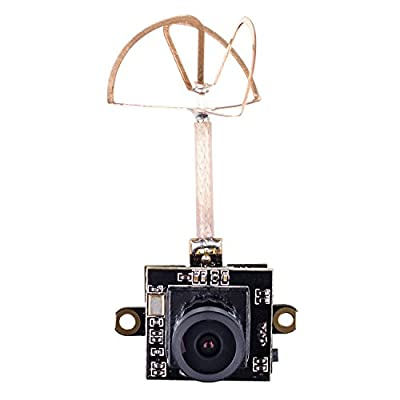 SunFounder SF-100D FPV AIO Micro Camera 800TVL 1/3 CMOS 5.8G 40CH 25mW Transmitter Combo for Indoor Mini Drone Propeller Inductrix