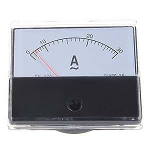 SODIAL(R) AC 30A amperemetre AMP YS-670 Panneau rectangulaire