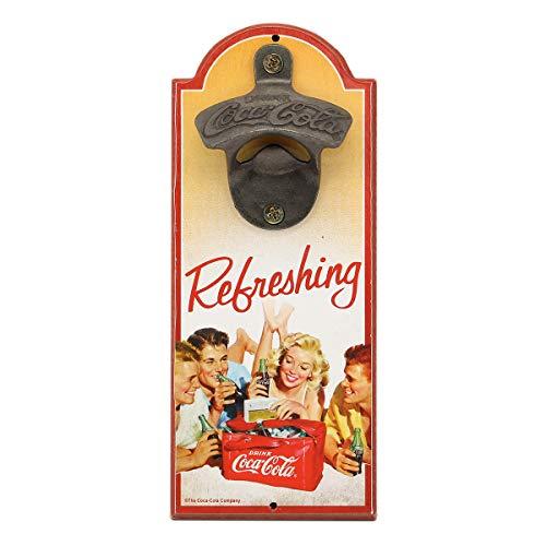 Open Road Brands Erfrischender Coca-Cola Flaschenöffner -