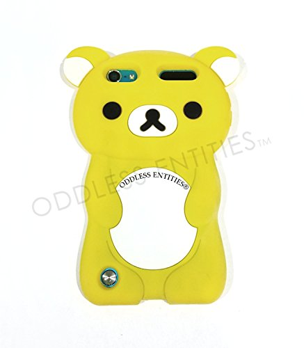 Schutzhülle für iPod Touch 5. / 6. Generation, Silikon, 3D-Design Teddybär Rilakkuma, Gelb - Ipod Rilakkuma