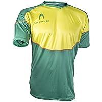 Ho soccer Legacy Camiseta de Portero Manga Corta, Hombre, Verde/Lima / Naranja
