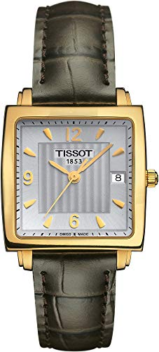 Tissot Sculpture Line 18 KT T71.3.324.64 Reloj de Pulsera para Mujeres