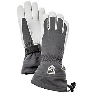 Hestra Damen Heli lang Gauntlet Leder Ski Handschuh