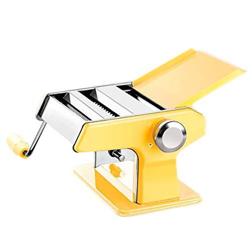 RUIMA Einteilige Doppelmesser-Pressmaschine Manuelle Knetmaschine Kleine Handroll-Nudelmaschine Multifunktionshaushaltsmaschine