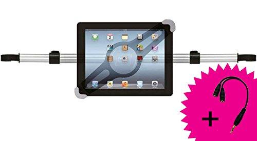 Girafus Tablet Kfz Auto Halterung für Rücksitz für 7 8 9 10 Zoll Tablets & iPad Galaxy Halter Relax H3