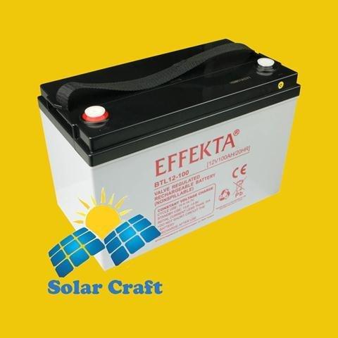 Gel-Akku 12V 100Ah AGM Solarpanel Ladegerät Energie photoviltaique - Stm-ersatz