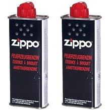 2 unidades Original de Zippo Mechero de combustible 125 ml