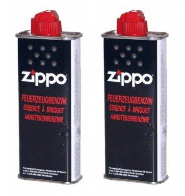 2 Stück ZIPPO Original Feuerzeugbenzin 125ml