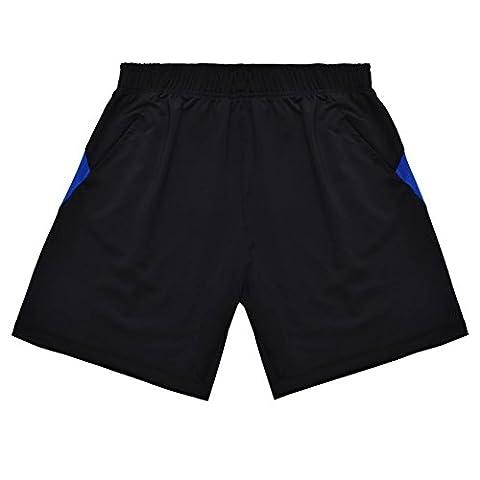 Challenger De Bande Bleue Sport Shorts Homme La Marche Courte