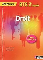 DROIT BTS 2 (POCH REF) ELEVE de LAURENCE GARNIER