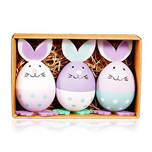 SJZV Kunststoff-Ostereier Geben Kindergeschenke Bulk Little Rabbit Toys
