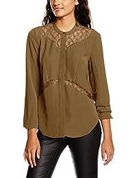Vero Moda Vmlaura L/S Shirt Ga, Blouse Femme