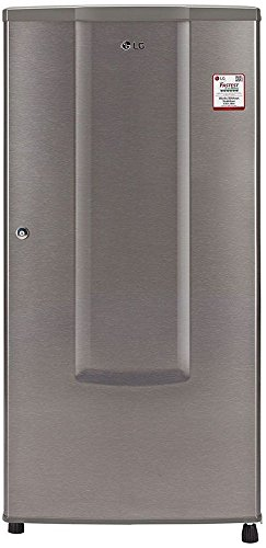 LG 185 L 1 Star Direct-Cool Single Door Refrigerator (GL-B181RDSU.ADSZEBN, Dazzle Steel)  available at amazon for Rs.11699