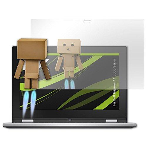 atFolix Displayfolie für Dell Inspiron 11 3000 Series Spiegelfolie, Spiegeleffekt FX Schutzfolie