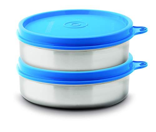 Signoraware Mini Mate Container, Set of 2, 60 ml Each, Blue