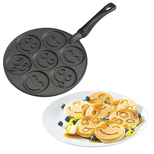 NordicWare Pancake-Pfanne, Aluminium, Schwarz, 27 cm