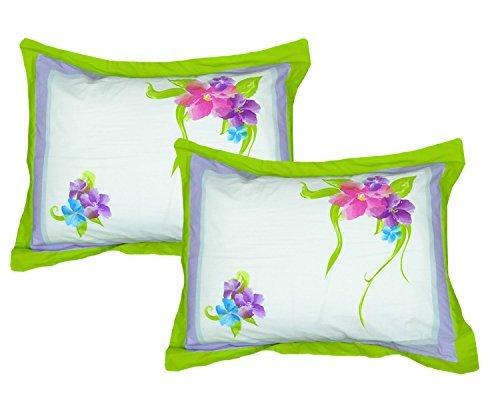 2-pack Disney Floral Pillow Shams Set - Magic Art Bedding Pillowcases -