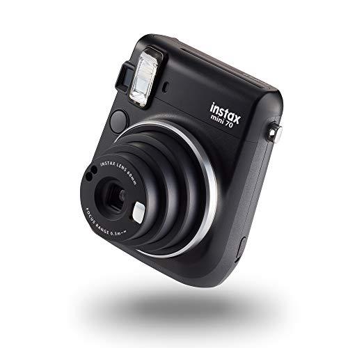 instax mini 70 camera with 10 shots, Midnight Black
