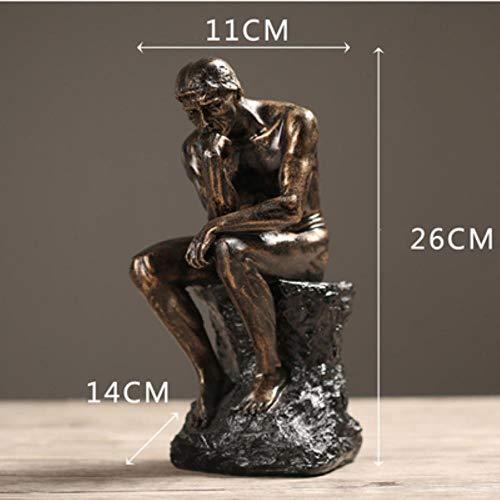 WHRP-Statue Bronzefigur, europäische Retro-Venus-Statue, David, kleine Möbel, Dekoration, Basteln, Zuhause, Wohnzimmer Figuren, Dekoration, Tischdekoration, Stil 8